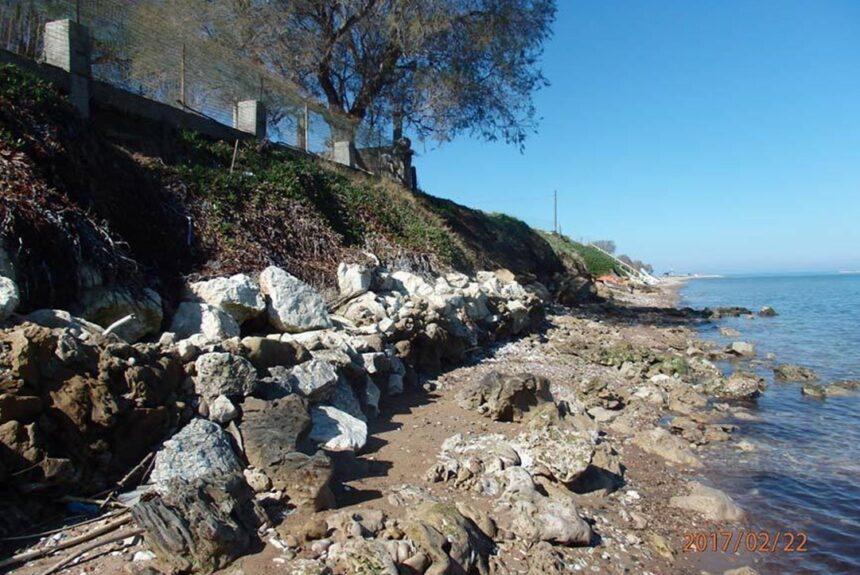Δυτική Αχαΐα: 1 μέτρο ετησίως υποχωρεί η ακτή!